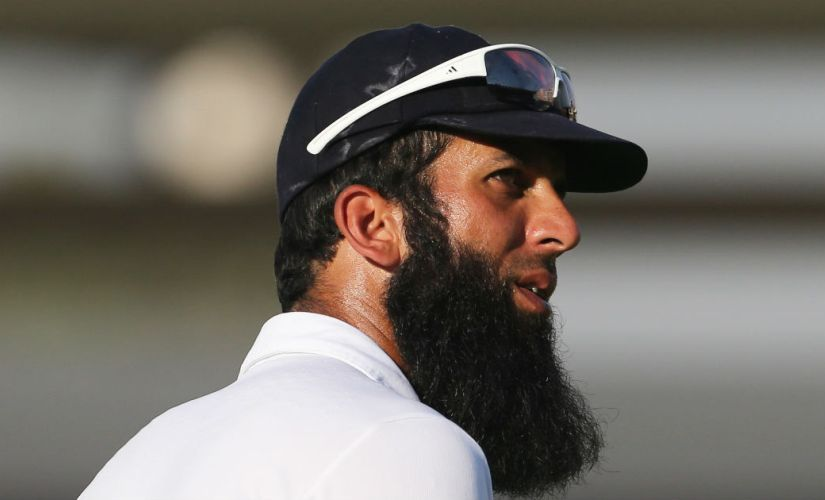 Moeen Ali during England's tour of Pakistan (In UAE). Reuters