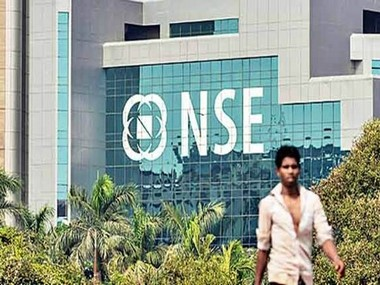 NSE building. PTI