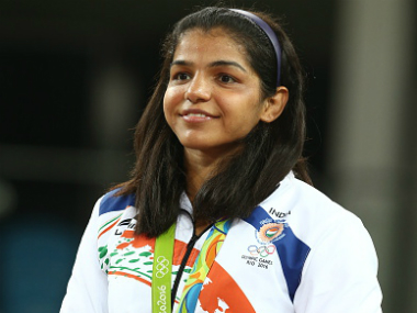 File photo of Sakshi Malik. Getty images