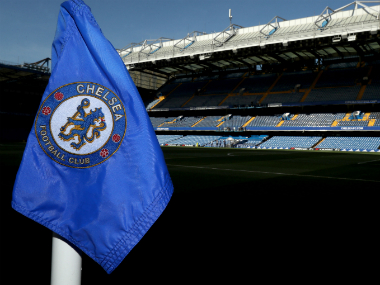 Chelsea's home ground, Stamford Bridge. AP