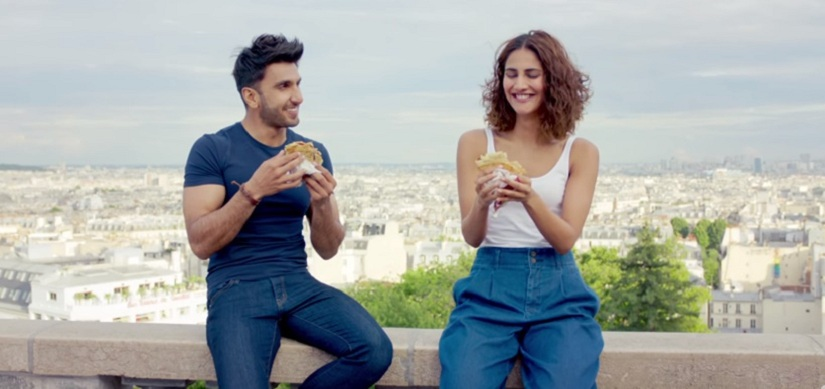 Ranveer plays Dharam, while Vaani Kapoor is Shyra in Befikre'