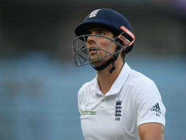 File photo of Alastair Cook. Getty Images