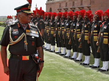 File photo of army personnel. Reuters