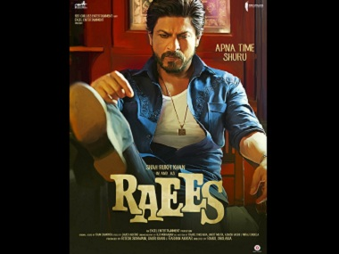 Shah Rukh Khan in and as 'Raees'