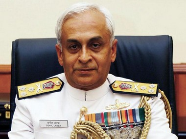 File image of Admiral Sunil Lanba. Getty Images