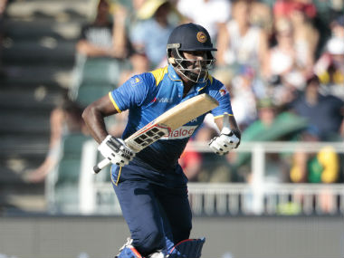 File photo of Angelo Mathews. AFP