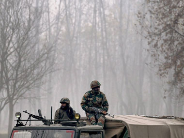 About 2.6 lakh armed forces personnel are deployed in Jammu and Kashmir. PTI