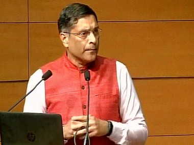 Chief Economic Advisor Arvind Subramanian. PIB