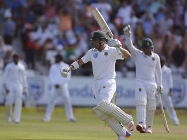 Dean Elgar, centurion from the first South African innings, will look to continue in the same vein of form.