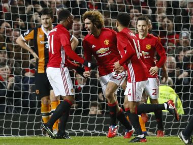 File photo of Manchester United. Reuters