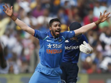 Hardik Pandya was among the pick of the bowlers in the Pune ODI. AP
