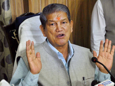 Uttarakhand Chief Minister Harish Rawat. File photo. PTI