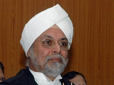 Chief Justice of India, Jagdish Khehar. PTI