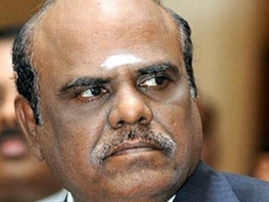 File image of Justice CS Karnan. Image courtesy: Bar and Bench