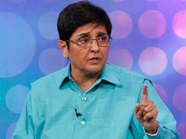 Puducherry Lieutenant Governor Kiran Bedi. Reuters