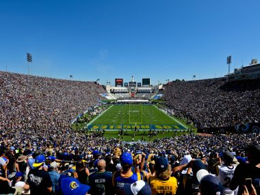 A general view of the Los Angeles Memorial Coliseum, one of the proposed venues. Reuters