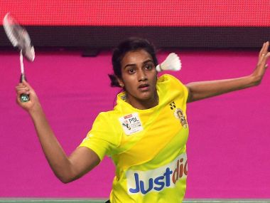 PV Sindhu beat Sung Ji Hyun in straight games. PTI