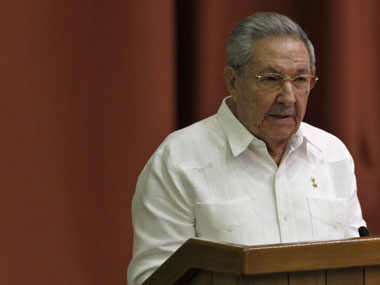 File photo of Raul Castro. Reuters
