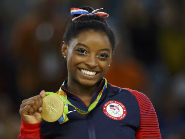 Simone Biles additionally hailed Dipa Karmakar for serving as an inspiration to kids back home. Reuters