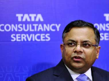 TCS Chairman N Chandrasekaran. AFP file photo