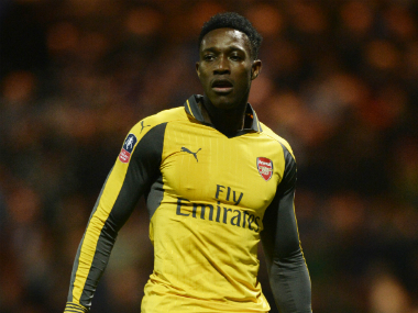 File photo of Danny Welbeck. Reuters