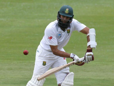 Hashim Amla became just the eighth player to reach 100 Tests for South Africa in this match. Reuters
