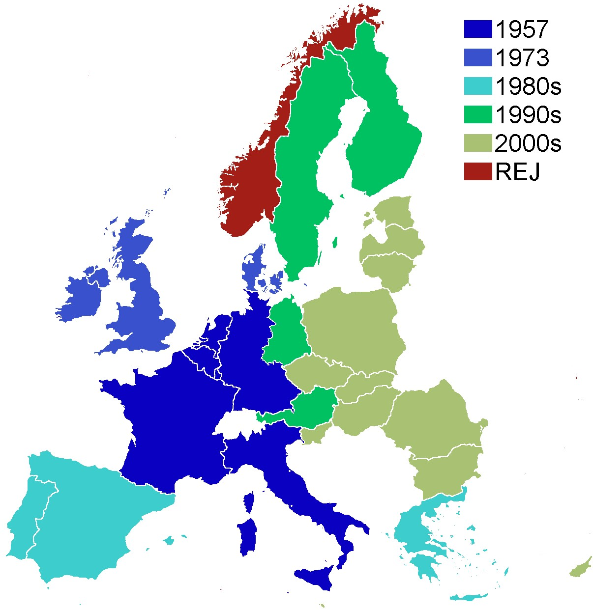 Map Showing Eastward Expansion Of Nato