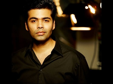 Karan Johar. Photo courtesy Facebook