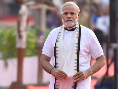 PM Modi has thrown his weight behind the Fifa U-17 World Cup to be hosted in India. Getty Images