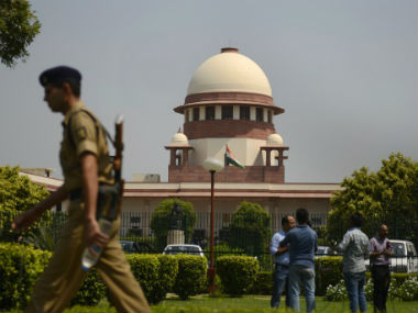The Indian Supreme Court. Getty Images