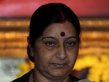 Sushma Swaraj. AFP