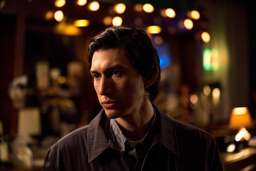 Adam Driver in a still from Paterson