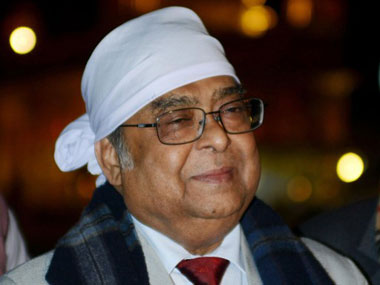 Former Chief Justice of India Altamas Kabir. AFP