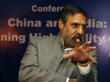 File image of Anand Sharma. AP