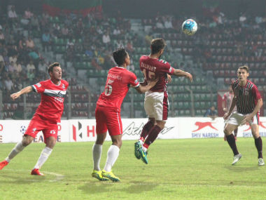 Balwant Singh's brace in the 42nd and 44th minutes helped put Mohun Bagan forward after conceding one early. Image courtesy: Mohun Bagan official Twitter account