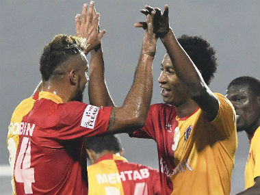 File image of East Bengal team. Image courtesy: Twitter @ILeagueOfficial