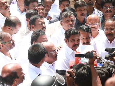 Edappadi Palanisamy, the new AIADMK general secretary.