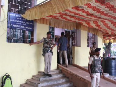 Voters at polling booth in Goa. Mihir Ved/ Firstpost.