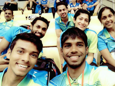 Indian team will face Thailand in the quarterfinal of Asia Mixed Team Championship. Image Credit: Twitter: @PRANNOYHSPRI