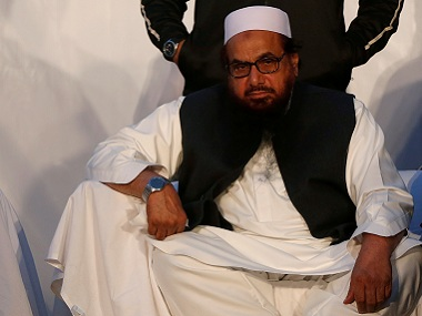Hafiz Saeed has said he is not a flight risk and has never indulged in terrorist activities. Reuters