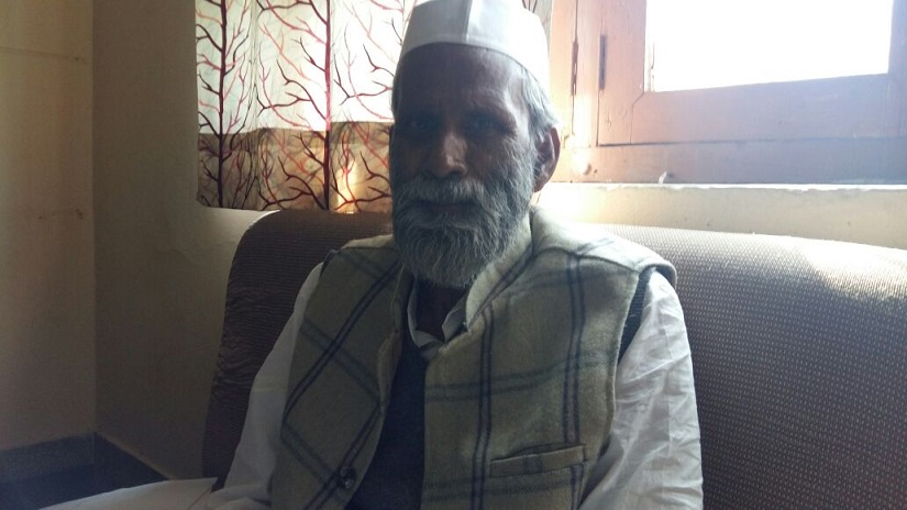 Haji Mumtaz Mohan, an official associated with the sharath Miyan Dargah at Bareilly