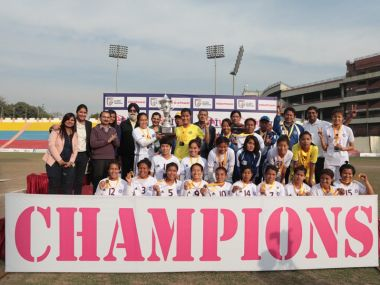 Eastern Sporting Union were crowned champions of inaugural Indian Women's League. Ywitter/@IndianFootball