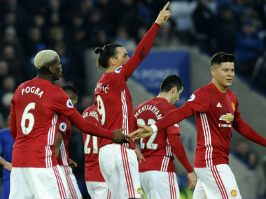 Manchester United maintain their unbeaten run in the Premier League. AP