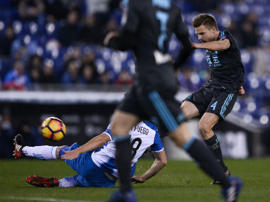 Aiser Illarramendi brilliant half volley ensures all three points. AFP
