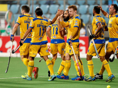 Jaypee Punjab Warriors bow out of the semi-final race. Twitter: @HockeyIndiaLeag