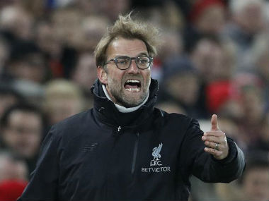 File photo of Liverpool manager Jurgen Klopp. Reuters