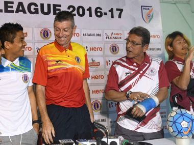 East Bengal and Mohun Bagan will renew their rivalry this time in a top of the table clash in the I-League. Twitter/@ILeagueOfficial