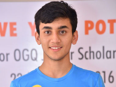15-year-old Lakshya Sen smashed his way into the finals. Image Credit: Twitter/@virenrasquinha