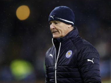 Leicester City manager Claudio Ranieri. Reuters