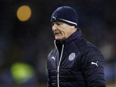 Leicester City manager Claudio Ranieri. Reuters